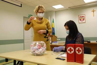 Galeria Losowanie nagród dla krwiodawców