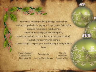 Galeria Życzenia na Boże Narodzenie