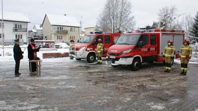 Galeria Przekazanie wozu strażakom