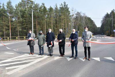 Galeria Otwarcie dróg powiatowych z dofinansowaniem z Funduszu Dróg Samorządowych