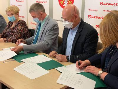 Galeria Podpisanie umowy na dofinansowanie