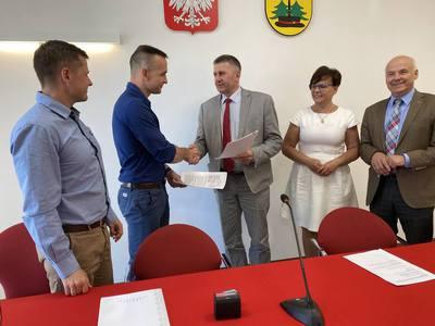 Galeria Podpisanie umowy w Lelisie