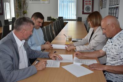 Galeria Podpisanie umowy parafia Baranowo