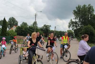 Galeria Rodzinny rajd rowerowy w Czerwinie