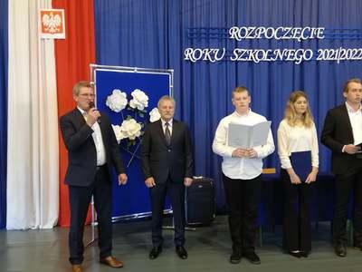 Galeria Inauguracja roku szkolnego w ZSP w Łysych