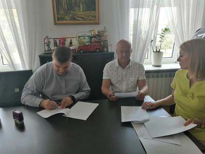Galeria Podpisanie umów na dotacje
