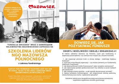 Galeria Szkolenie Fundacja Gwiazdka