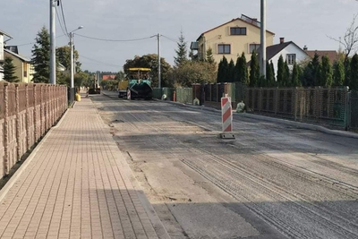 Galeria Zadania drogowe Powiatu