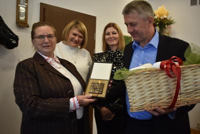 Galeria Gratulacje dla Czesławy Lewandowskiej